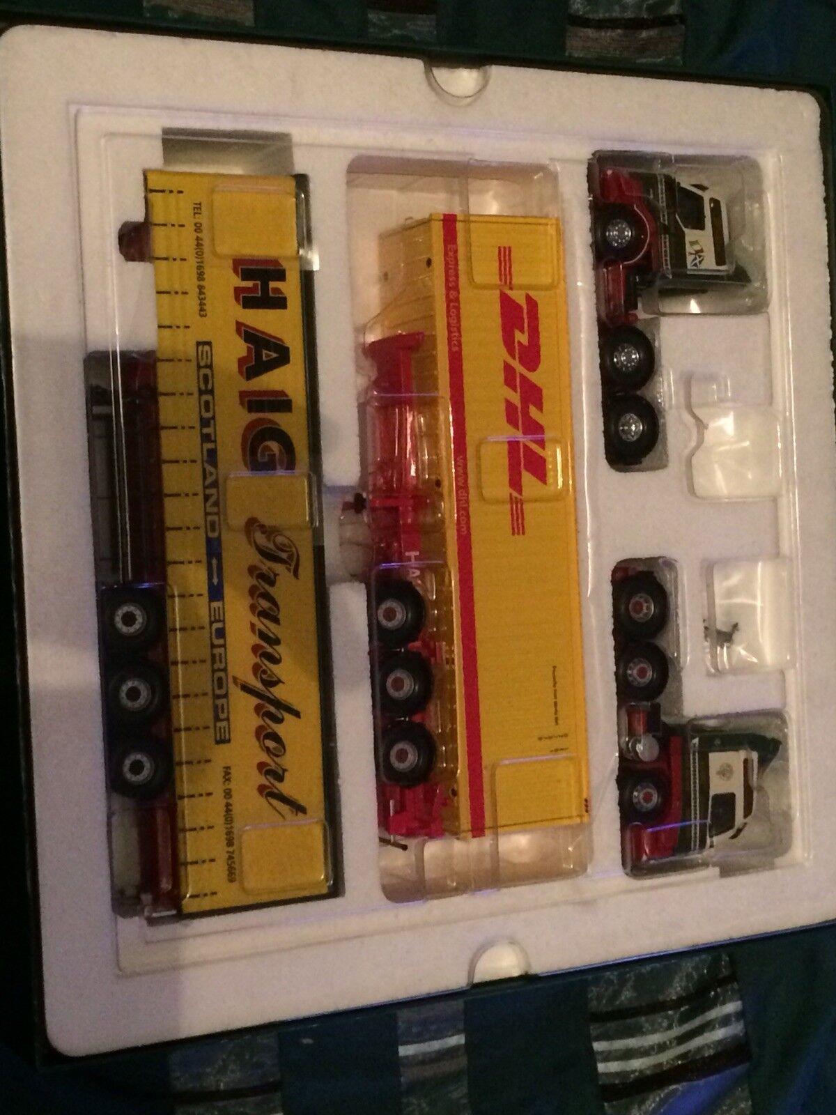 Corgi tärningskast lastbils minneslåda för Haig -transport