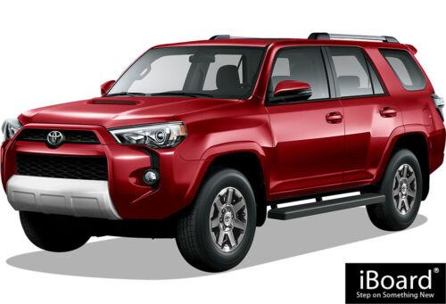 "Premium 6/"" Black iBoard Side Steps Fit 14-19 Toyota 4Runner SR5//TRAIL"