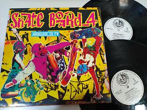 Skate-Board-4-BLANCO-Y-NEGRO-MAX-MIX-1992-Obk-doble-2-X-LP-12-034-vinyl-VG-VG