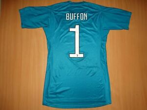 the latest c0e60 b2e5f Details about NEW JUVENTUS #1 BUFFON 2017 2018 AWAY ADIZERO ADIDAS Football  Shirt S GOALKEEPER