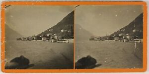 Lac A Identificare Suisse Italia Foto Stereo L9n5 Vintage Analogica