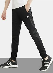 Details about Adidas Men Essential Pants Training Black Run Tapered Casual Sweat-Pant GD2545