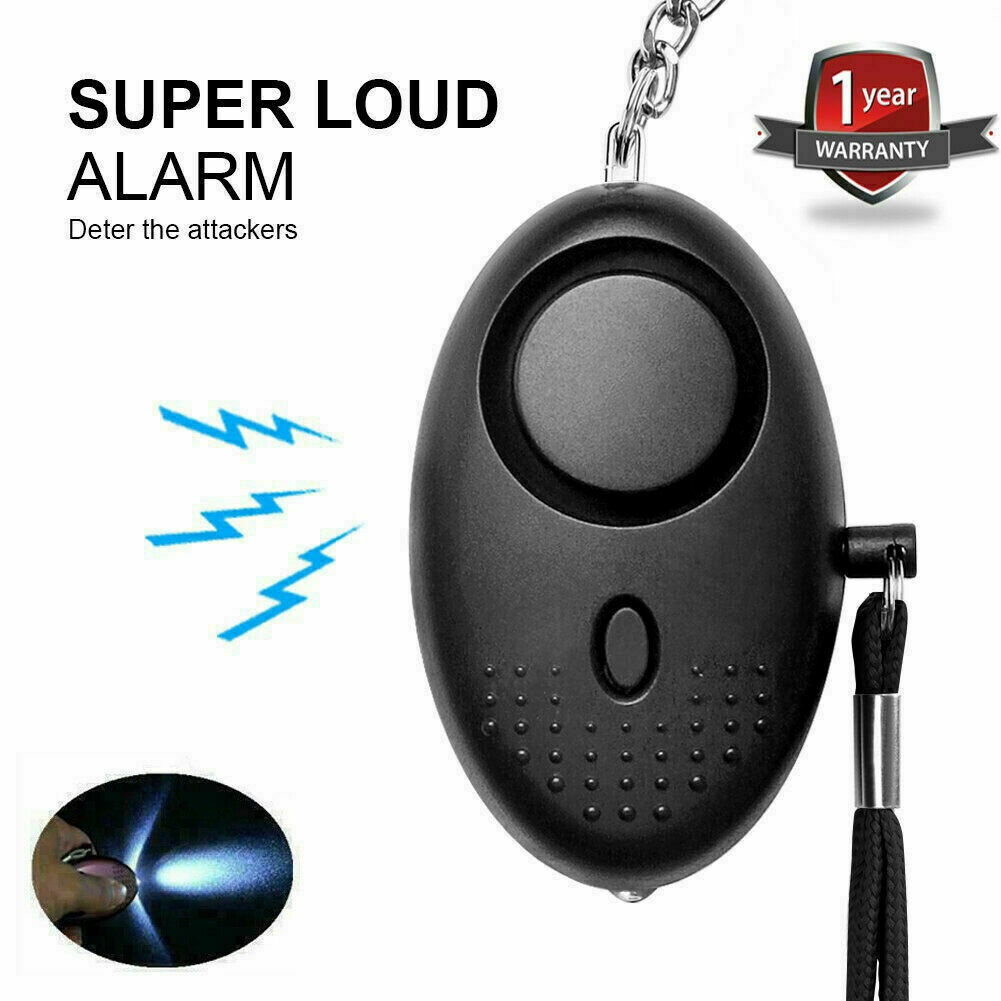 Police Approved Personal Panic Rape Attack Safety Security Loud Alarm Keyring UK