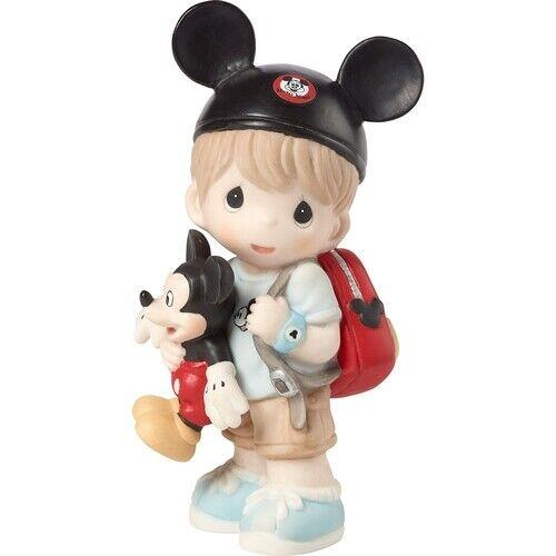 Precious Moments Disney Dreamer Boy Mickey Mouse Figurine Bisque Porcelain