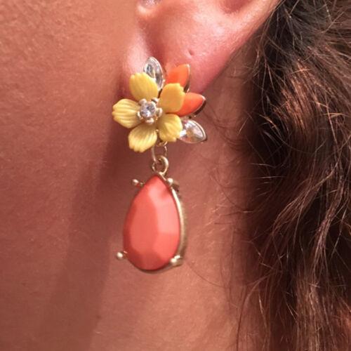 Sauvage Chrysanthème Fleur Boucles d/'oreilles Goutte Pendantes Bijoux Pour Amis Cadeau Sa