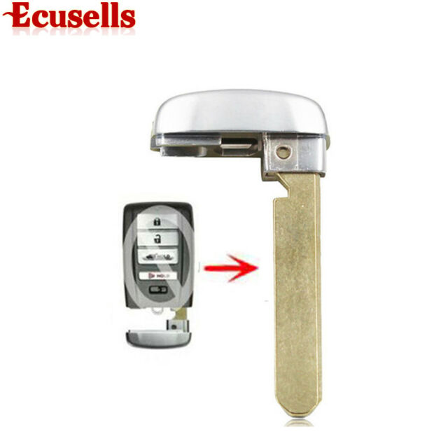 New Uncut Emergency Smart Remote Key Insert Blade For