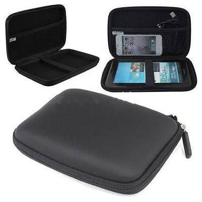 Black GPS Hard Carry Case For Garmin Dezl 760LMT-D 7'' GPS Sat Nav