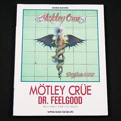 Motley Crue Dr Feelgood Band Score Japanese Japan Guitar Tab Song Book Ebay