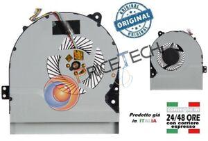 Originale S56 X550 X550C X550VC X550V Ventola ASUS Ventolina Cooling Fan CPU U1HZI7q