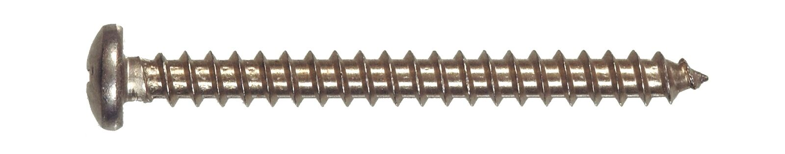 The Hillman Group 44182 8 x 3-Inch Pan Phillips Sheet Metal Screw Stainless ...