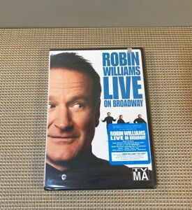 Robin Williams Live On Broadway DVD New Sealed 2002 ...