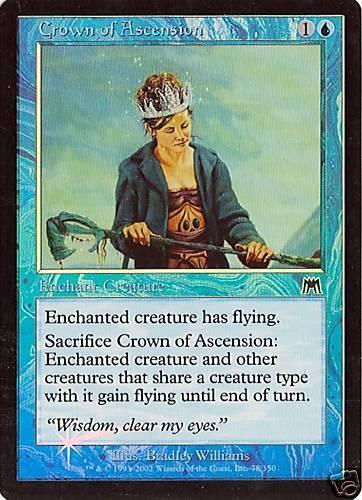 NM Crown of Ascension MTG Onslaught Foil 2X