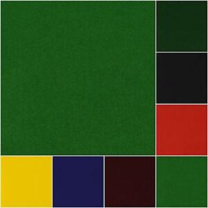 Liso-Solido-Fieltro-Manualidades-Telas-piezas-por-metro-145cm-Ancho-9-Colores