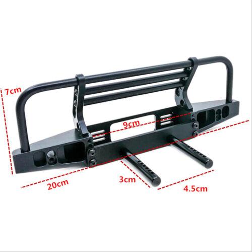 Adjustable Metal Front Bumper for 1//10 RC Crawler Defender Axial SCX10 90FW