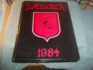 1984-KINGSWAY-REGIONAL-HIGH-SCHOOL-YEARBOOK-SWEDESBORO-NJ-LANCER