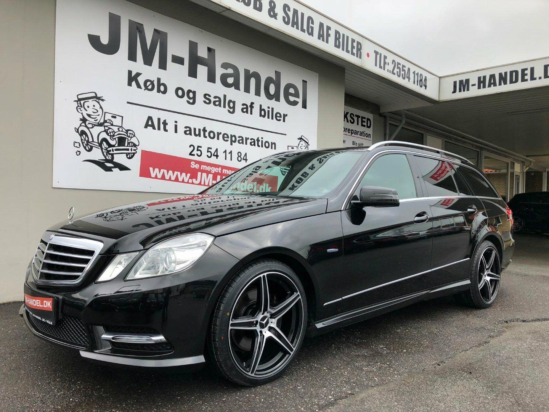 Mercedes E350 3,0 CDi Avantgarde stc aut 4-M BE 5d