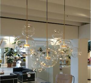 Details About Gl Mickey Bubble Home Lighting Pendant Lamp Chandelier Ceiling Light Fixtures