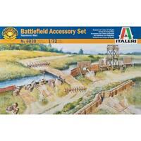 Italeri 1/72 Napoleonic Wars Battlefield Accessories Set 6030 Ita6030