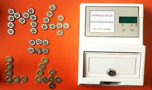 Sunbed Tokens M4 silver compatible with L4 sunbed tanning token meter machine
