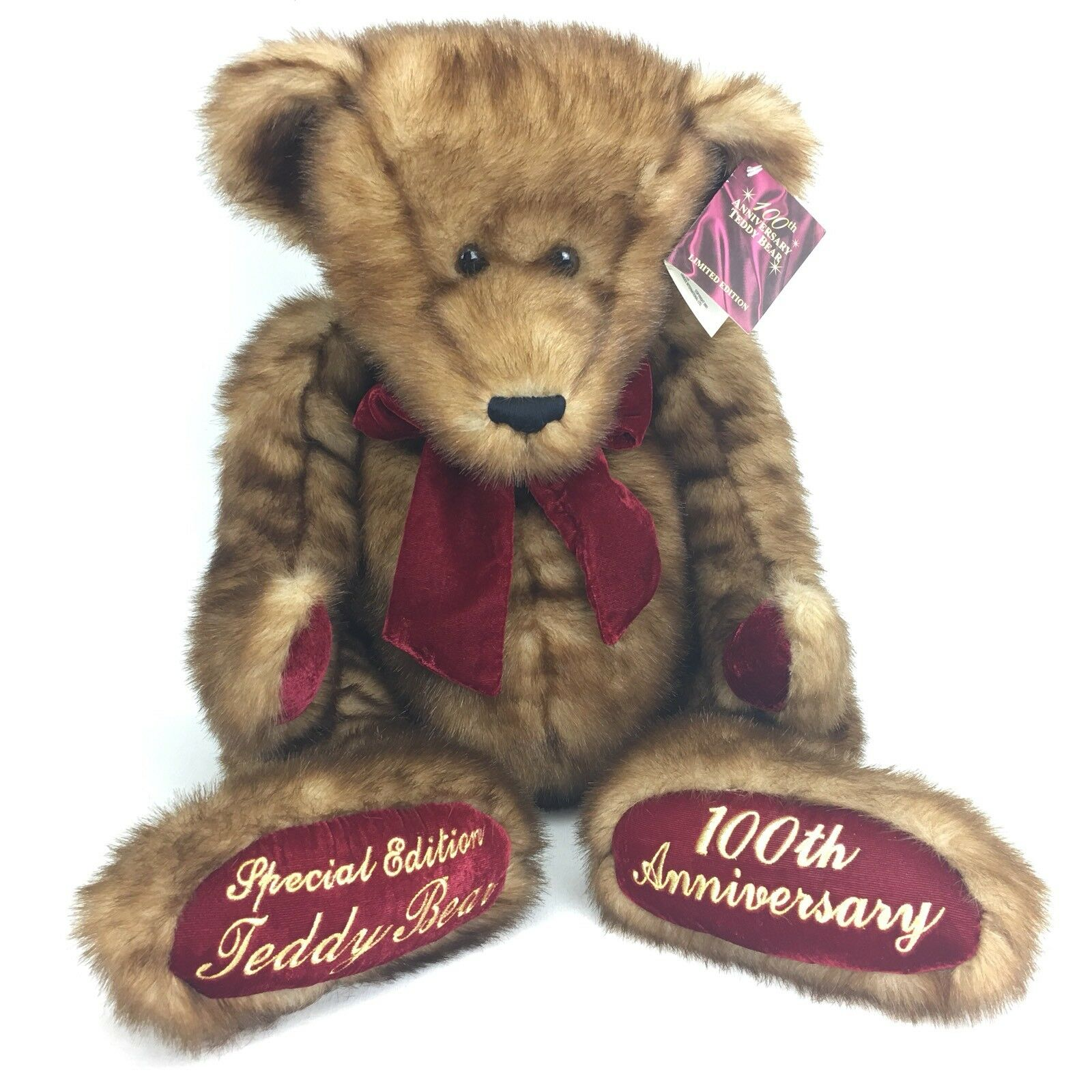 Dan Dee Teddy Bear Braun 100th Anniversary Limited Edition 2001 Large
