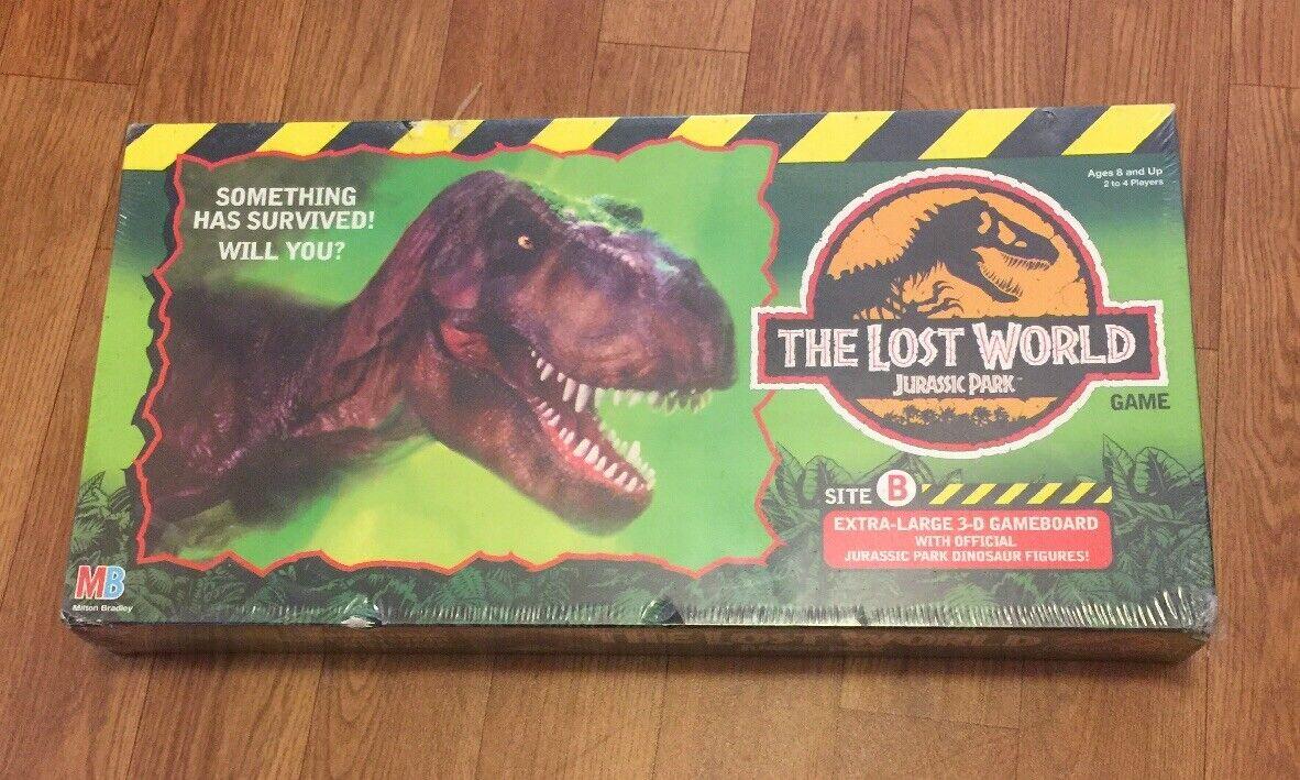 negozio di moda in vendita RARE Factory Sealed 1996  Jurassic Park  LOST LOST LOST WORLD tavola gioco  nuovo  bellissima