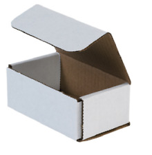 100 Pack 5x3x2 White Corrugated Shipping Mailer Packing Box Boxes 5 X 3 X 2