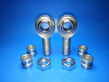 """Panhard Bar Economy Rod End 3/4"""" x 3/4"""" Heim Joints 3/4-5/8 Misalignment Spacers"""