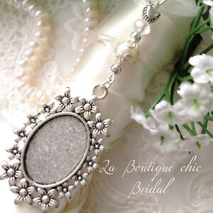 Lovely Bridal Bouquet Photo Frame Memory Charm Wedding Bride Gift