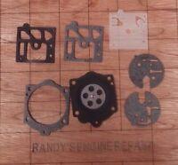 Gasket Diaphragm Kit Walbro Carburetor Mcculloch Pro Mac 610 650 605 655 690