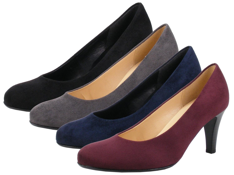 0409cee02cca70 Gabor 95-310 95-310 95-310 Schuhe Damen Pumps Weite F Microvelour ...