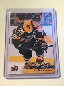 2017-18-UD-Series-1-Jake-DeBrusk-Young-Guna-UD-Canvas-Boston-Bruins-C112