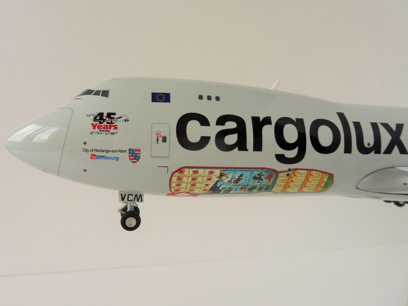 Boeing 747-8F Cargolux 1/200 Herpa 558228 45th Anniversario 747 747-8
