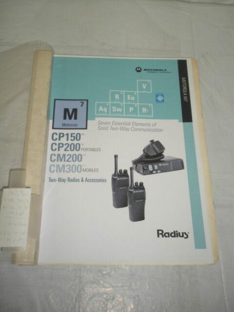 motorola radius m1225 manual