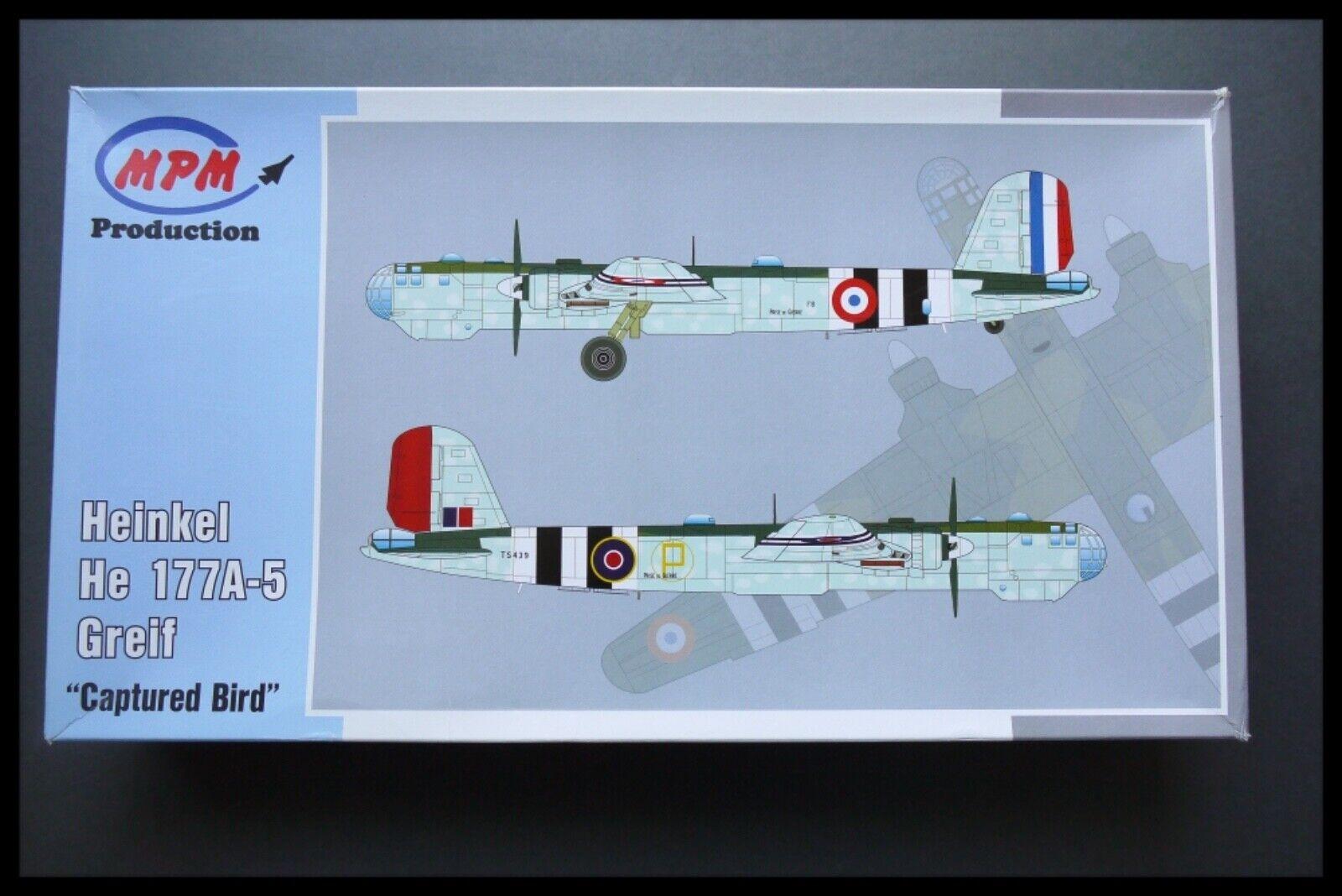 RARE mpm 1  48, Heinkel Heinkel Heinkel He 177 a - 5 greif 5ab
