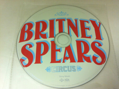 1 of 1 - Britney Spears Circus Music CD Album 2008 - DISC ONLY in Plastic Sleeve