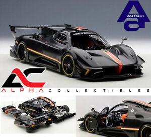 Autoart-78272-1-18-Pagani-Zonda-R-Revolucion-de-fibra-de-carbono-negro-sonreir