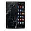 thumbnail 1 - Skins Decal Wrap for Samsung Note 9 - Black Marble Granite White