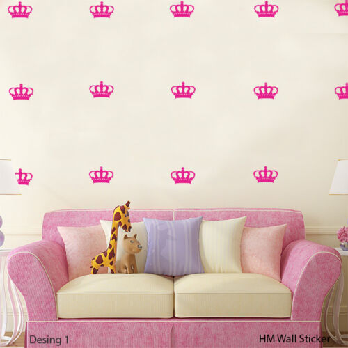 Choose from 5 Designs of CROWS Removable wall sticker decal for Kids or Nursery