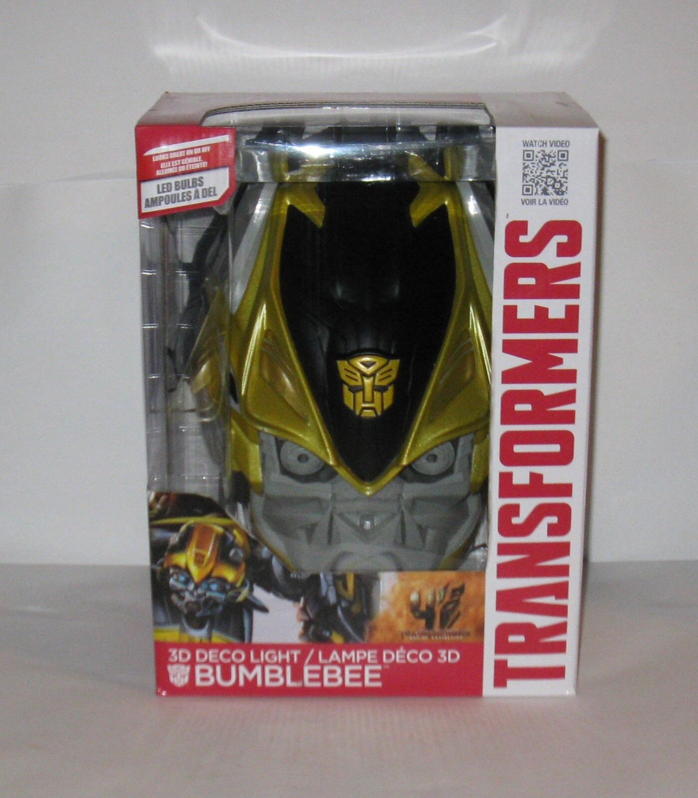 Transformers Bumblebee 3D Deco Light MB  FREE SHIPPING