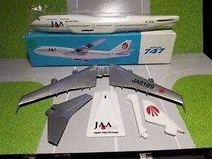FLIGHT-MINATURE-JAPAN-ASIA-AIRLINES-747-300-1-250-SCALE-PLASTIC-SNAPFIT-MODEL