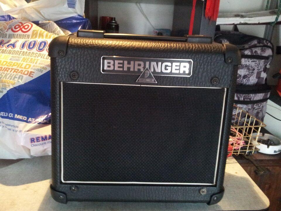 Forstærker, Behringer AC108