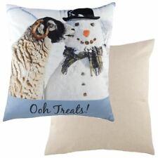 """43cm de 17 /""""Con Dibujo De Búho escena de nieve Cojín-Evans Lichfield dp918-Nuevo Para Navidad"""