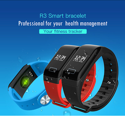 Original Smart Bracelet Wristband Watch Heart Rate Fitness Tracker Sleep Monitor