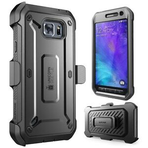 sports shoes 05548 a9d85 Details about Samsung Galaxy S6 Active Case Rugged Holster Built-in Screen  Protector Bumper