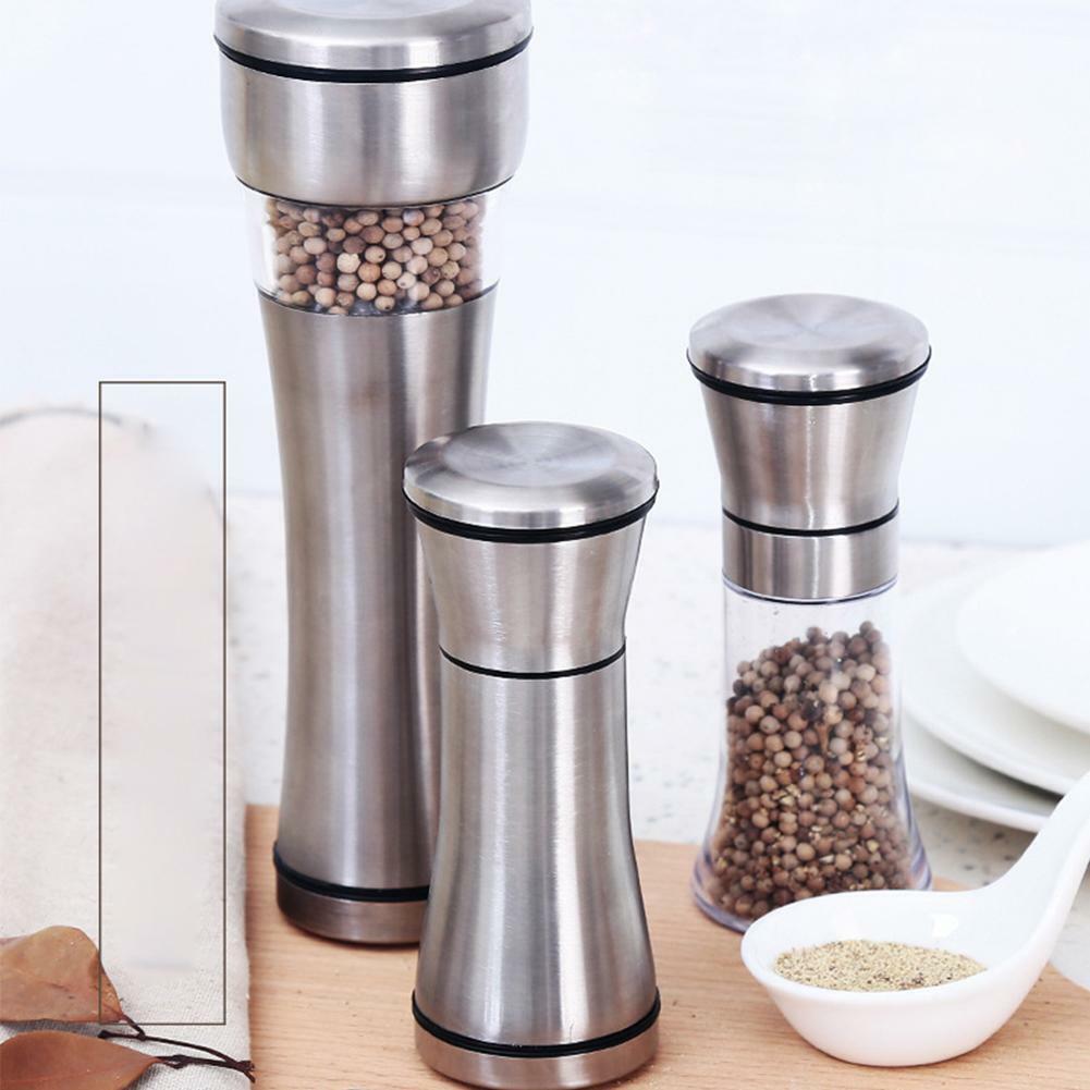 Stainless Steel Muller Manual Pepper Salt Spice Mill Grinder B Z0F7 Ki D2Q8 I6X7