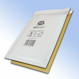 Genuine-Jiffy-White-amp-Gold-Padded-Bags-Envelopes-Mailers-All-Sizes