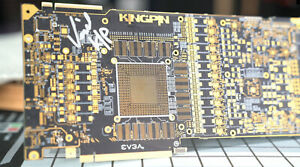 CHARITY-AUCTION-Kingpin-Autographed-PCB-1-amp-TEAM-SIGNED-GN-Med-Modmat-X299-DARK