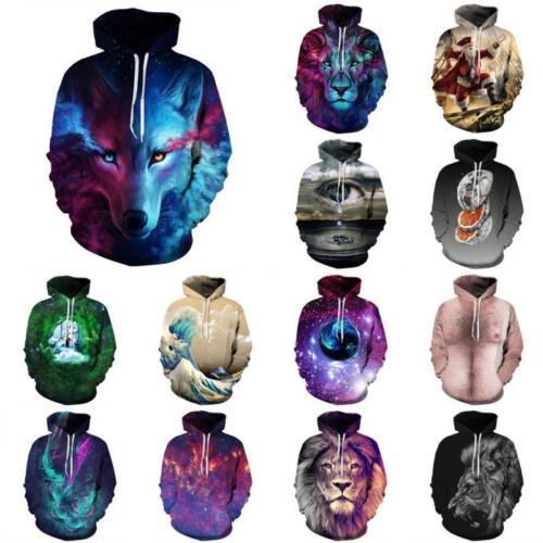 Fashion Unisex Women/'s Men/'s 3D Graphic Printed Sweatshirt Pullover Hoodies Tops