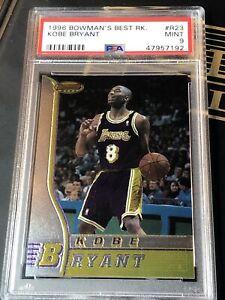 1996-97 Bowman's Best #R23 Kobe Bryant Rookie PSA 9 Mint RC LAKERS💎🔥