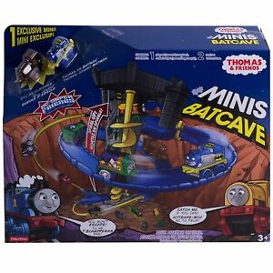 Fisher-Price-Thomas-the-Train-Minis-DC-Super-Friends-Batcave-Set-by-Fisher-Price
